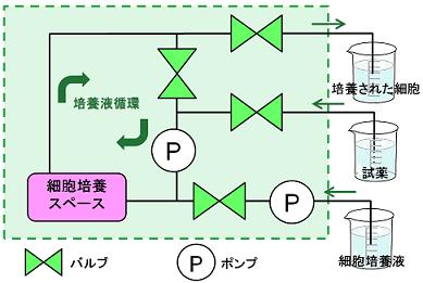 チューブポンプ内蔵チップ フロー図.png