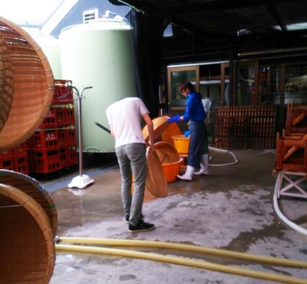 萬乗醸造 見学 takasago