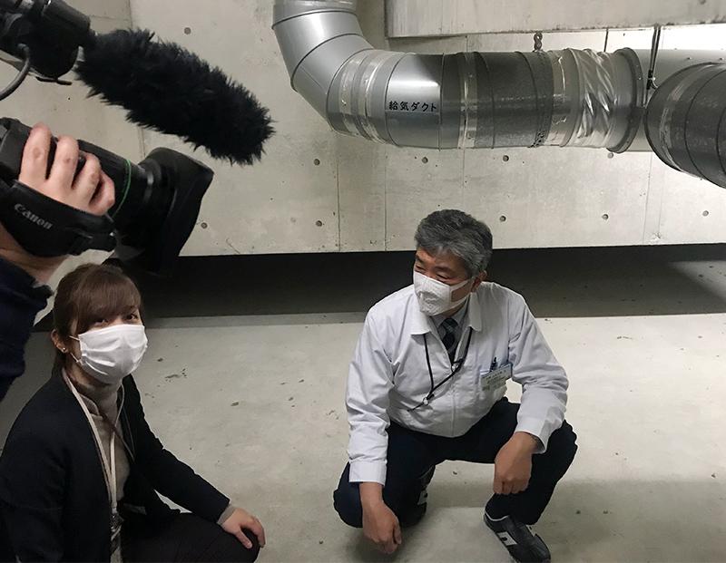 高砂電気 NHK取材 BCP 免震