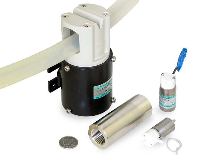 高砂電気工業の人工呼吸器用バルブ