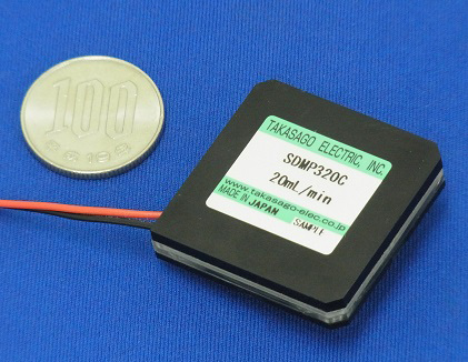 カートリッジ式 ピエゾマイクロポンプ 高砂電気