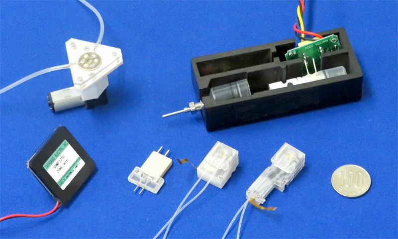 高砂電気工業のインシュリンポンプ 輸液ポンプ用マイクロポンプ