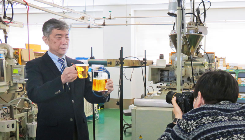 高砂電気 日経ビジネス 宇宙ビール醸造 取材
